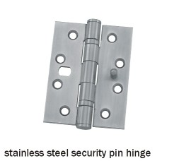 stainless steel security pin hinge