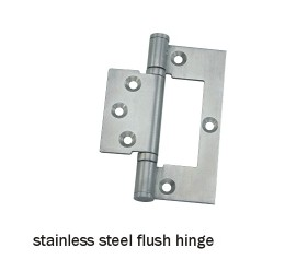 stainless steel flush hinge