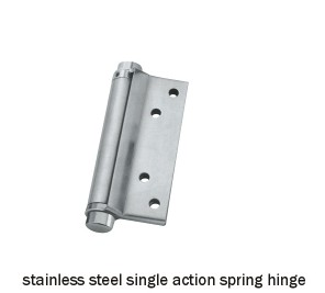 stainless steel single action spring hinge