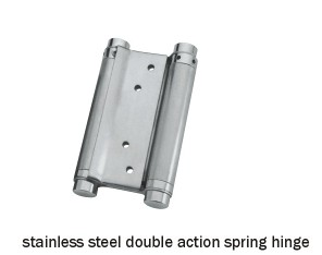 stainless steel double action spring hinge